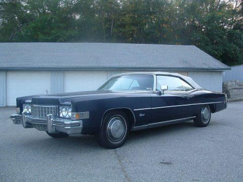 New parts 1973 Cadillac Eldorado convertible for sale