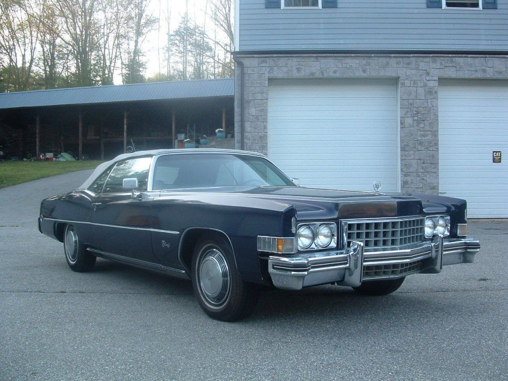 New parts 1973 Cadillac Eldorado convertible