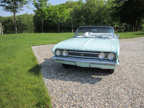 One year only color 1962 Buick Skylark convertible for sale