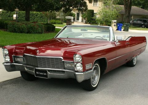 Original 1968 Cadillac Deville Convertible for sale