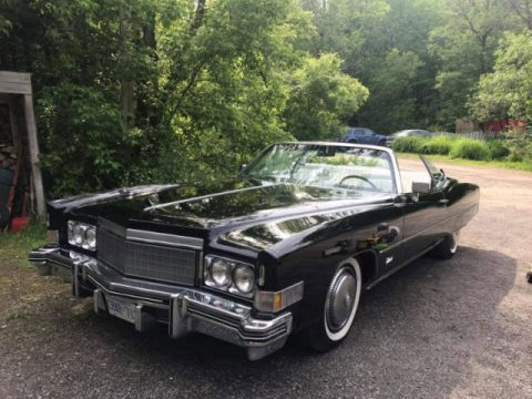 Recently restored 1974 Cadillac Eldorado Convertible for sale
