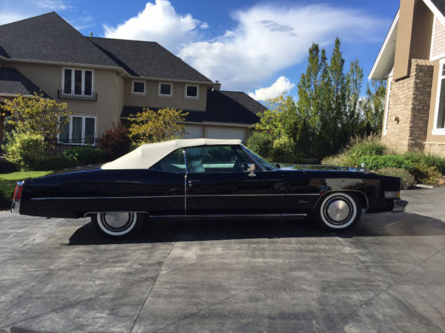 Recently restored 1974 Cadillac Eldorado Convertible