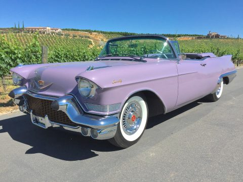 Restored 1957 Cadillac Eldorado Biarritz Convertible for sale