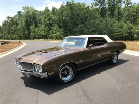 Restored 1970 Buick GS455 Convertible for sale