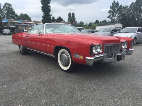 rust free 1972 Cadillac Eldorado convertible for sale