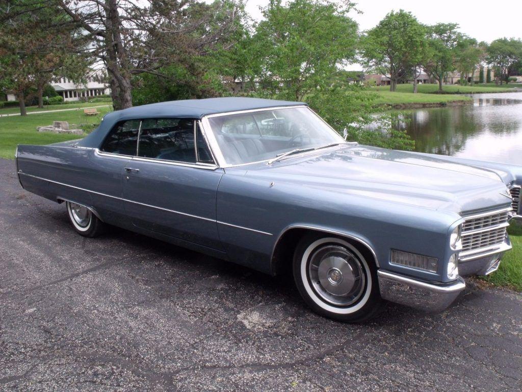 Rust freen 1966 Cadillac DeVille Convertible