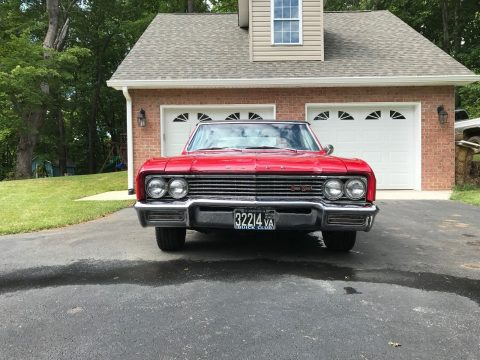 Survivor condition 1965 Buick Skylark Gran Sport Convertible for sale