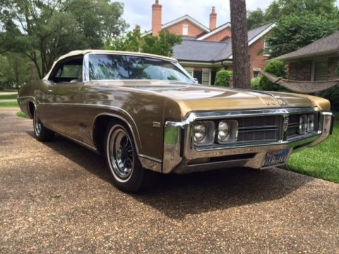 Totally restored 1969 Buick Wildcat Convertible for sale