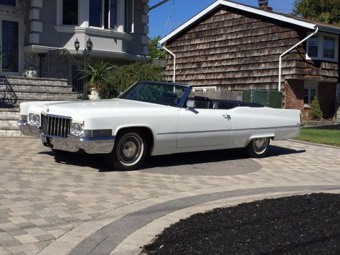 Trophy winner 1970 Cadillac Deville Cadillac CONVERTIBLE for sale