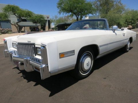 absolutely gorgeous 1976 Cadillac Eldorado Convertible for sale