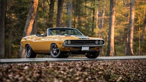 badass 1971 Dodge Challenger R/T convertible for sale