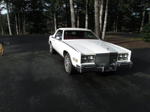 Beautiful straight 1985 Cadillac Eldorado Biarritz convertible for sale