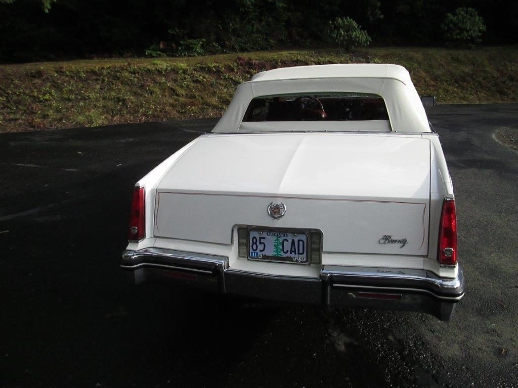 Beautiful straight 1985 Cadillac Eldorado Biarritz convertible