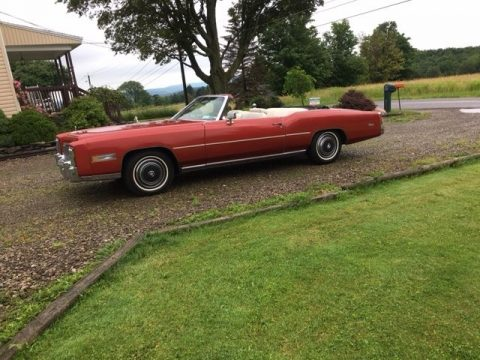excellent condition 1976 Cadillac Eldorado Convertible for sale