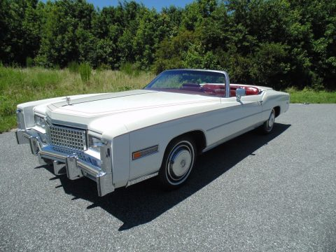 Garaged 1975 Cadillac Eldorado Convertible for sale