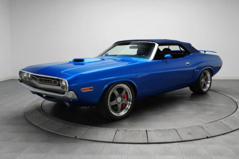laser straight 1971 Dodge Challenger R/T convertible for sale