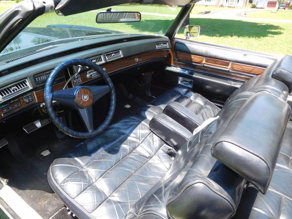 low miles 1976 Cadillac Eldorado Convertible