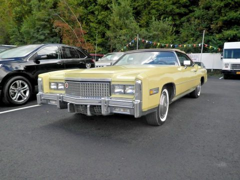 Mark of luxury 1975 Cadillac Eldorado Convertible for sale