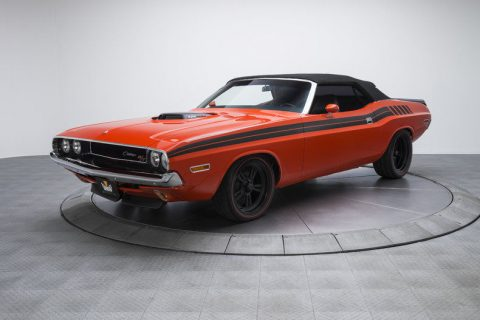 mint condition 1970 Dodge Challenger R/T convertible for sale