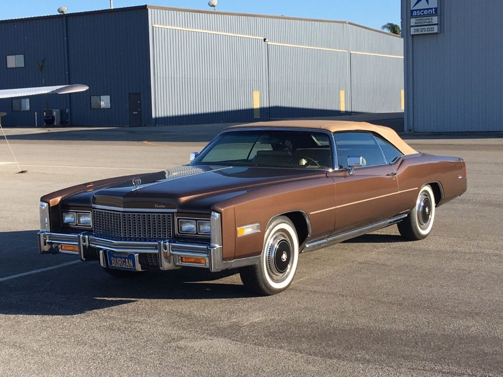 Museum quality 1976 Cadillac Eldorado convertible