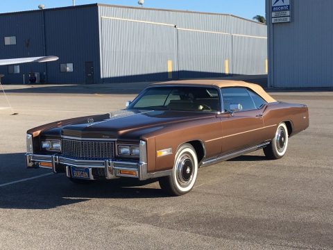 Museum quality 1976 Cadillac Eldorado convertible for sale