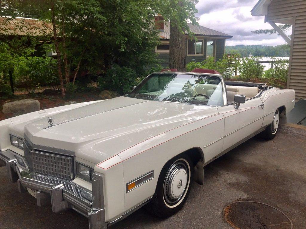 New top 1975 Cadillac Eldorado Convertible
