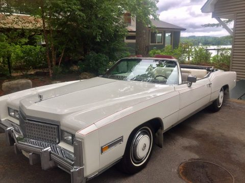 New top 1975 Cadillac Eldorado Convertible for sale