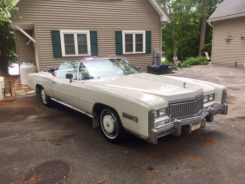 New top 1975 Cadillac Eldorado Convertible