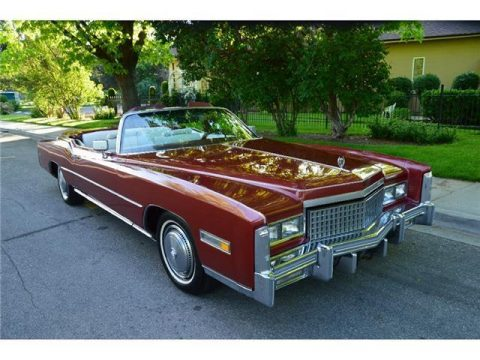 Original low miles 1975 Cadillac Eldorado Convertible for sale