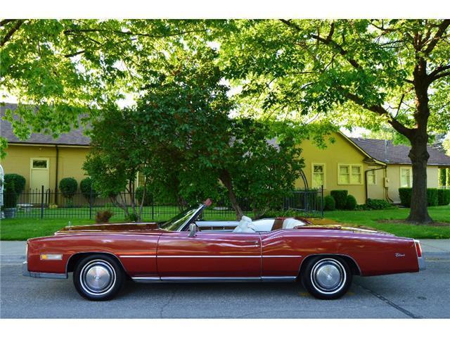 Original low miles 1975 Cadillac Eldorado Convertible