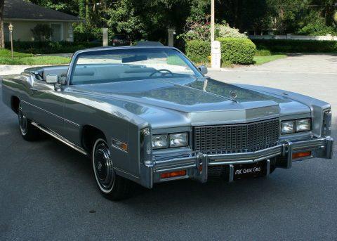 Original Survivor 1976 Cadillac Eldorado Convertible for sale