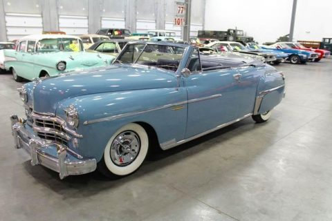 restored 1949 Dodge Coronet Convertible for sale