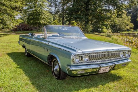 restored 1965 Dodge Coronet 500 convertible for sale
