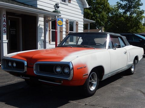 unfinished restoration 1970 Dodge Coronet 500 Convertible for sale