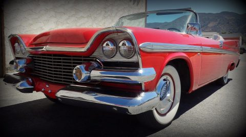 very rare 1958 Dodge Coronet convertible for sale