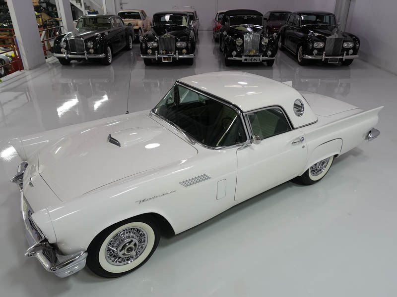 celebrity owned 1957 Ford Thunderbird Convertible