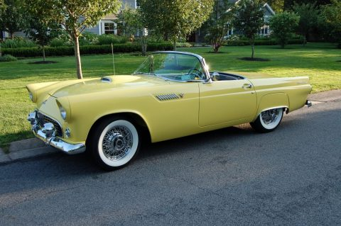 everything works 1955 Ford Thunderbird convertible for sale