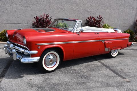 Frame Off Restored 1954 Ford 1 of 1500 with demonstrator hood convertible for sale