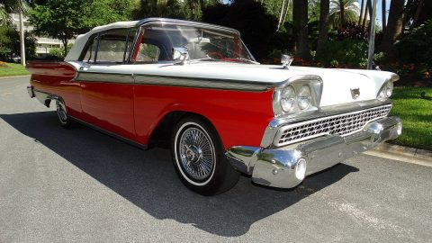 minor imperfections 1959 Ford Fairlane Galaxie 500 Convertible for sale