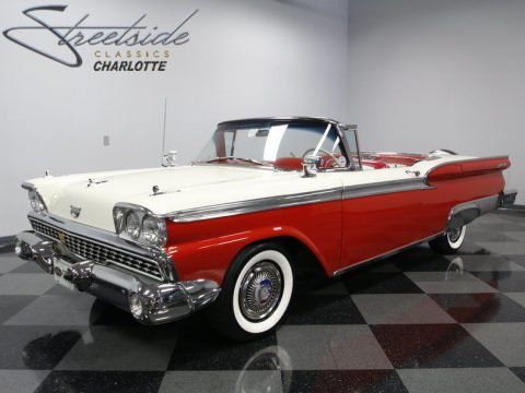 original 1959 Ford Galaxie Retractable Convertible for sale