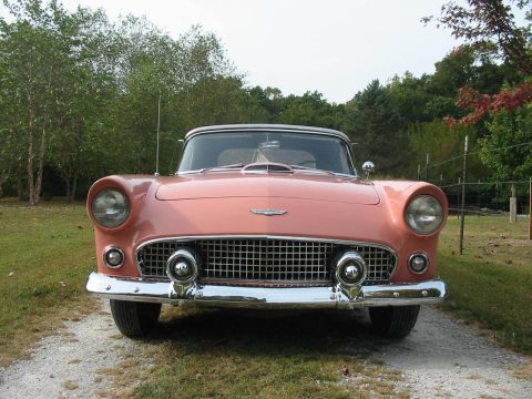 rare 1956 Ford Thunderbird convertible for sale