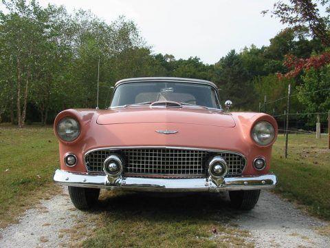 rare 1956 Ford Thunderbird convertible for sale