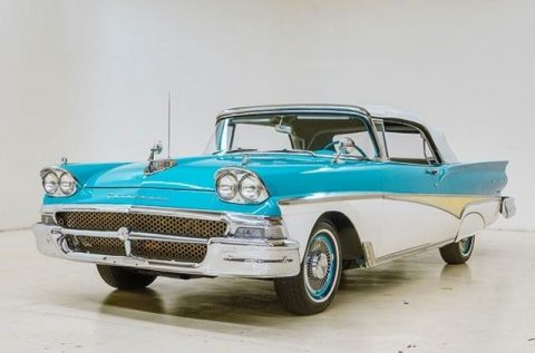 rebuilt engine 1958 Ford Fairlane Convertible for sale