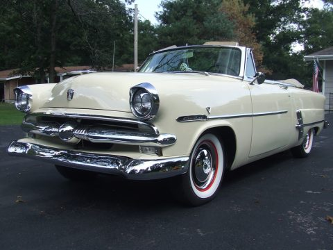 restored 1953 Ford Crestline Sunliner Convertible for sale