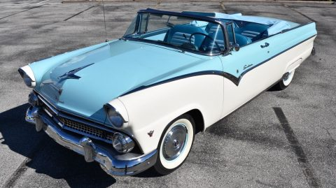 restored 1955 Ford 272ci V8 convertible for sale