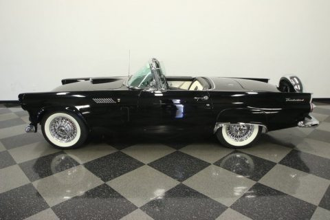 restored 1956 Ford Thunderbird convertible for sale