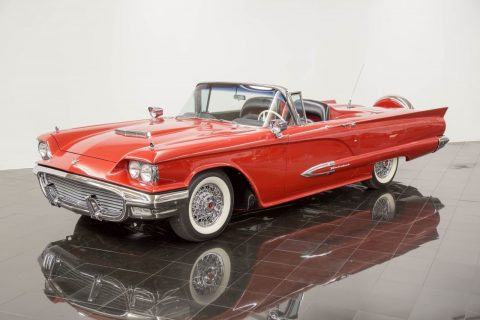 restored 1959 Ford Thunderbird Hardtop Convertible for sale