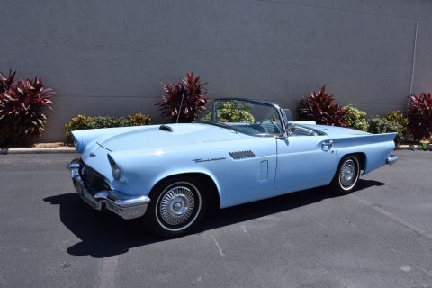 super clean 1957 Ford Thunderbird convertible for sale