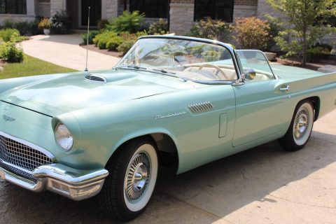 Tremendous Restoration 1957 Ford Thunderbird convertible for sale