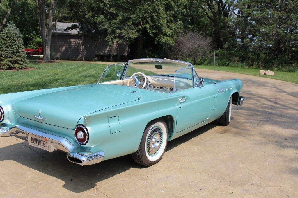 Tremendous Restoration 1957 Ford Thunderbird convertible